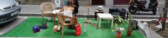 Lleida celebra dissabte el seu primer Parking Day