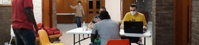 La parròquia Sant Ignasi de Loiola de Lleida acull 18 persones en dues setmanes
