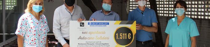 L'Autocine Resquitx Golmés entrega 1.511 euros al CAP de Mollerussa
