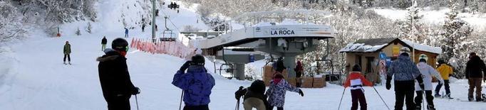 Espot reobrirà dijous i traslladarà els esquiadors en llevaneu