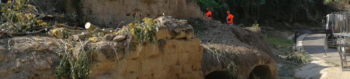 """Térmens """"destapa"""" el molí medieval, un dels escenaris de la batalla del Segre"""