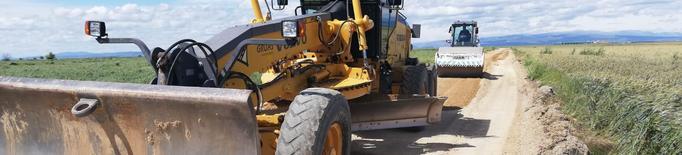 Torrefarrera millora els camins i aparcaments del municipi