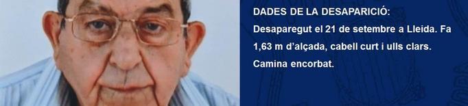 Troben mort l'home desaparegut des de dilluns a Lleida