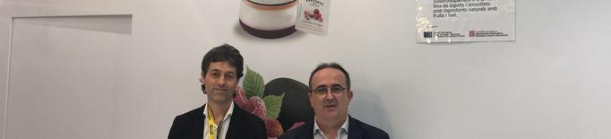 Alemany i Pastoret volen crear una nova gamma de iogurts endolcits amb fruita de Lleida i mel del Montsec