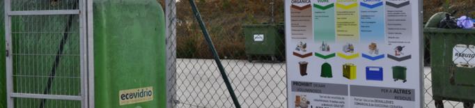 La Segarra millora els índexs de reciclatge al 2019 respecte l'any anterior