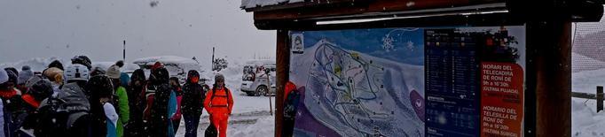 Les pistes d'Espot i Port Ainé obren el 100% del domini esquiable aquest cap de setmana
