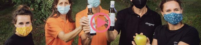 ⏯️ Tres empreses de Ponent s'ajunten durant el confinament per crear un vinagre de poma amb mel