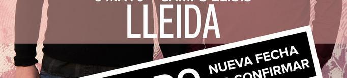 Estopa ajorna el seu concert a Lleida