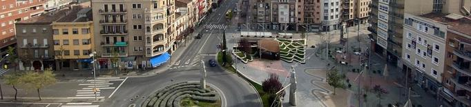 Zona Alta Lleida desèrtica confinament