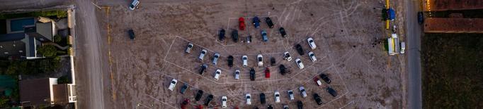 L'auto cine de Golmés duplica l'aforament fins a 400 persones