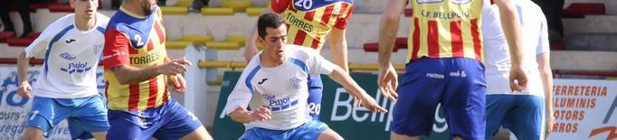 El Mollerussa, entre els invictes del futbol català