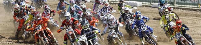 Butrón i Larrañaga, 'pole' al Campionat d'Espanya de motocròs de Bellpuig