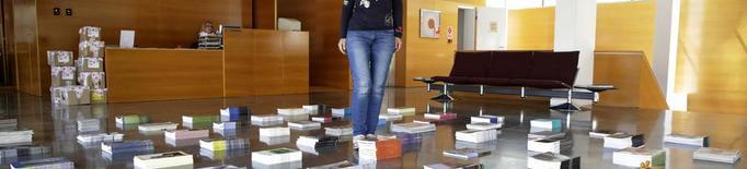 La diada de Sant Jordi encara segueix a Lleida