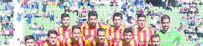 El Lleida, contra les matemàtiques