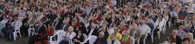 Missa multitudinària a la Feria d'Abril de Lleida