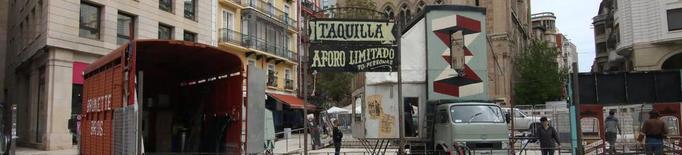 Últims preparatius per a la Fira de Titelles de Lleida