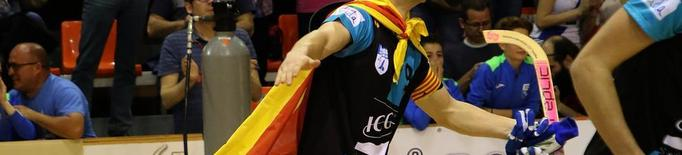 L'ICG Llista rep el Barça després de celebrar la CERS