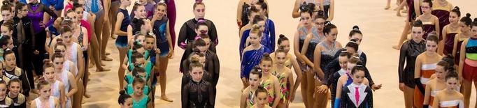 El Trofeu d'Almenar reuneix 385 gimnastes