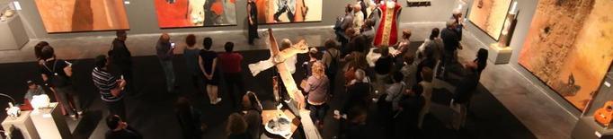 Obres de Guinovart dialoguen amb l'art del Museu de Lleida