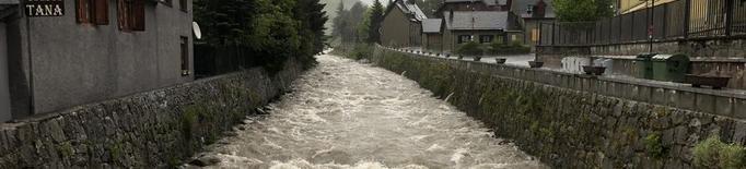 Nova alerta per l'avinguda de la Garona, que s'estén aquest cop a la Noguera Ribagorçana