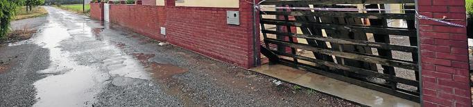 Continuen els robatoris a l'Horta: s'enduen una porta de ferro de tres metres de Rufea