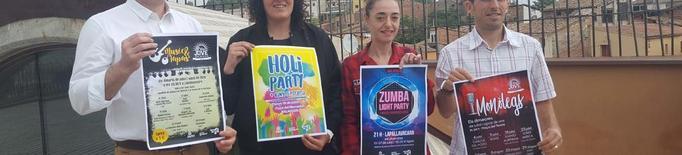 Concerts amb tapes, 'holi party' i zumba a Balaguer a l'estiu
