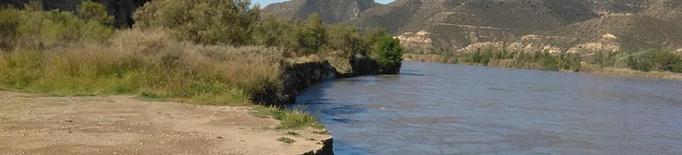 Fraga tanca accessos al Cinca i la Granja d'Escarp alerta sobre l'erosió de terrenys