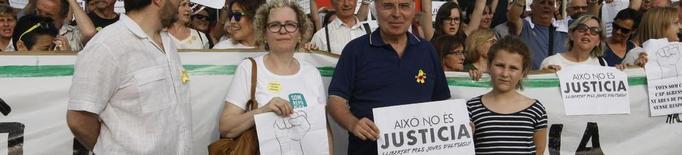 Concentració pels joves d'Altsasu i per l'agredit a Lleida