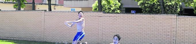Més de 1.400 lleidatans estrenen les piscines en el seu primer cap de setmana