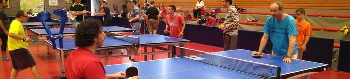 Aposta per la integració social amb el tenis taula