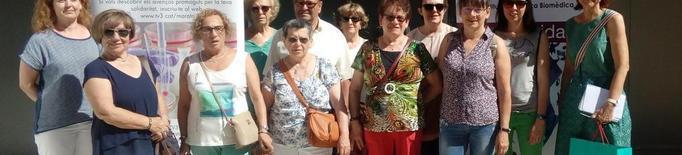 Donants de La Marató visiten l'IRBLleida