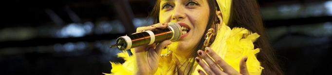 Marinah, d'Ojos de Brujo, al Festival MuDa al Pallars Sobirà