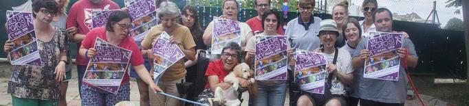 Busquen fons per a la teràpia canina d'un centre de Cervera