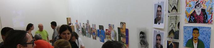 Obres d'art inclusiu de la Fundació Arrels a Indecor