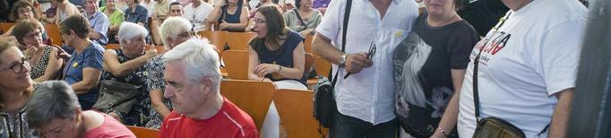 Conferències a Lleida i Guissona dels familiars dels joves d'Altsasu