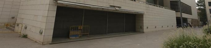 El bar del Museu de Lleida ja fa un any que està tancat