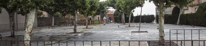 Sant Ramon renova la plaça de la Bassa, a l'entrada a la localitat
