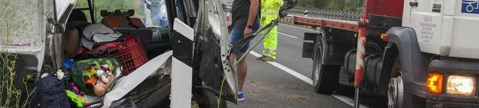 Vuit ferits en accidents a Bellpuig, Puiggròs, el Pont de Suert, la Pobla i Llavorsí