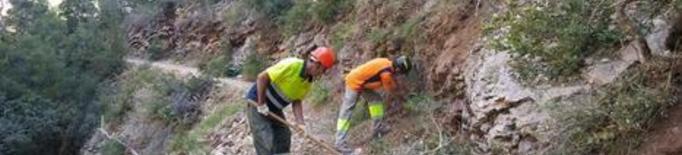 Mont-rebei reobre accessos i ja rep els primers turistes