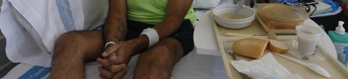 El pacient de l'Arnau denuncia que li donen l'alta per la queixa pública