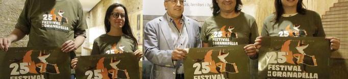 Feliu Ventura, al Festival de la Granadella de Música Popular i Tradicional