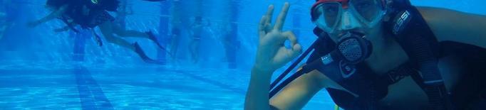 Busseig per a nens a les piscines de Lleida