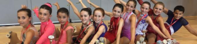 El Lleida PA obté dos medalles en patinatge