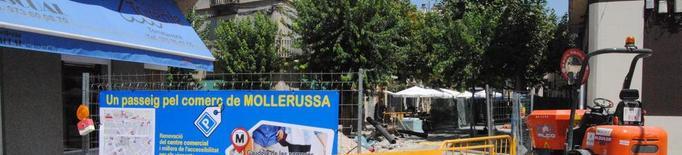 El comerç de Mollerussa planta cara a les obres