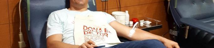 Reserves de sang sota mínims