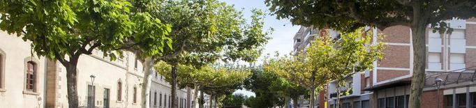 Cervera acaba la renovació del passeig Jaume Balmes