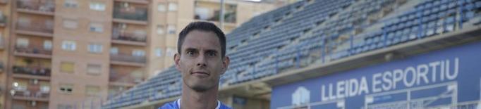 """César Soriano: """"És un repte personal pujar amb el Lleida"""""""