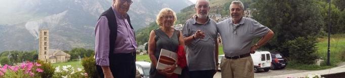 L'alcaldessa de Madrid, Manuela Carmena, turista a la Vall de Boí
