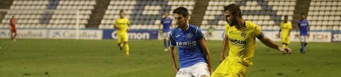 Álex Albístegui, setè jugador que arriba a 100 partits amb el Lleida