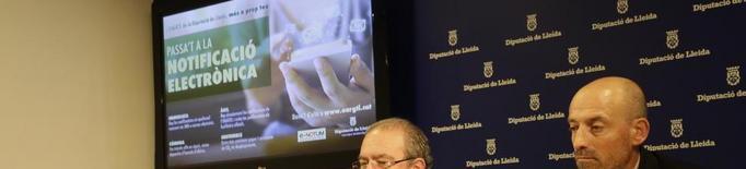 La Diputació vol estalviar un milió en cartes cada any